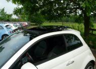 Fiat 500e Wit Sunroof 2014 (13)