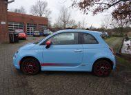 Fiat 500e Esport Blauw 2015